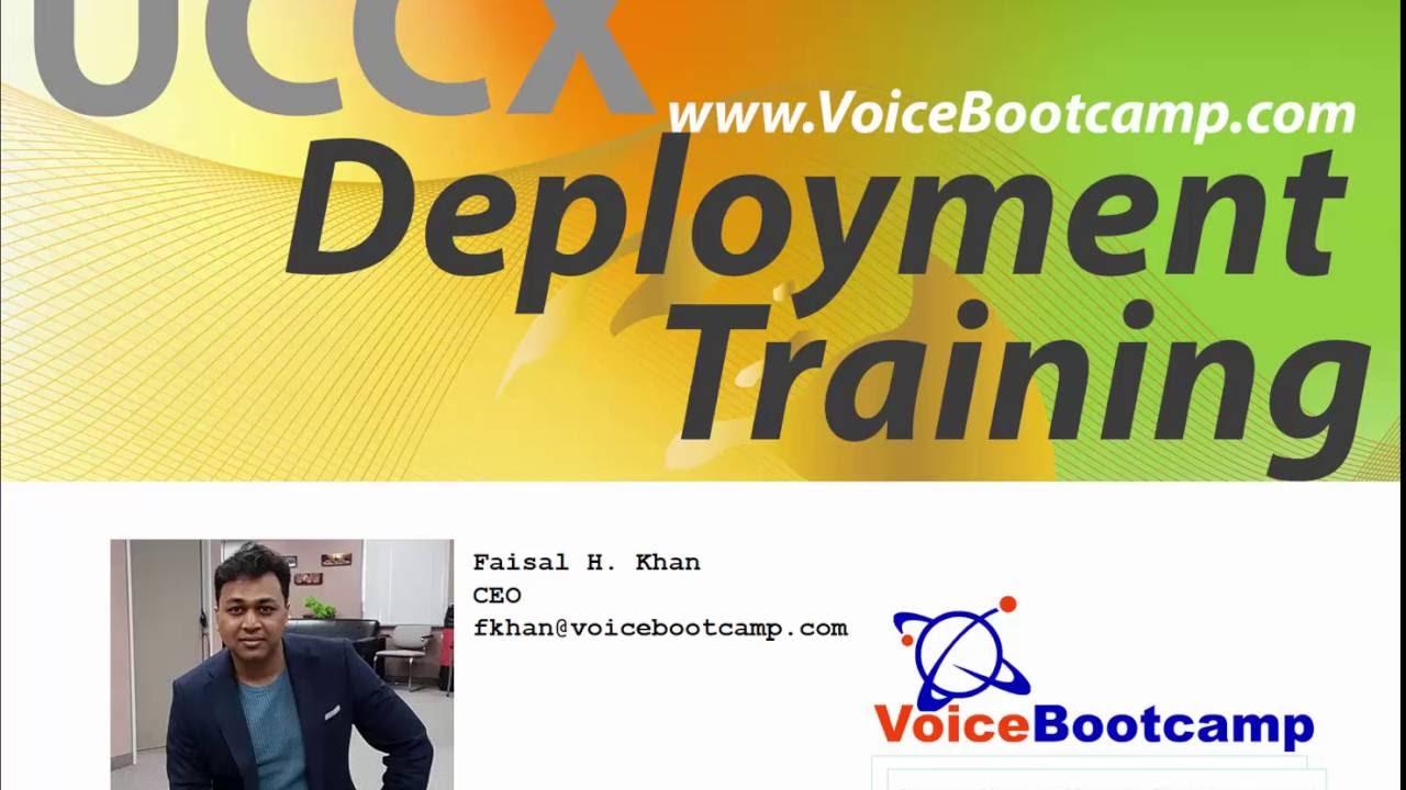 Cisco UCCX Deployment Training Intro Video