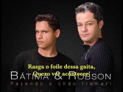 Bátima e Robson - O chão vai tremer - YouTube