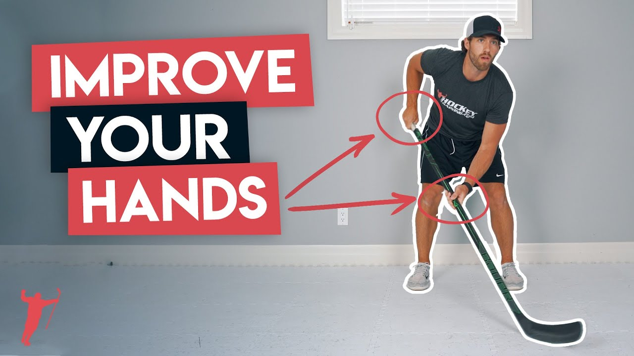 IMPROVE YOUR HANDS WITH THIS STICKHANDLING SESSION! 🏒
