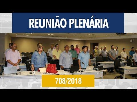 708ª Reunião Plenária - Crea-AL