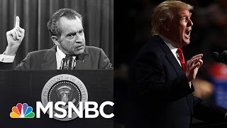 Donald Trump's Threat To James Comey Of 'Tapes' Draws Nixon Comparisons | The 11th Hour | MSNBC