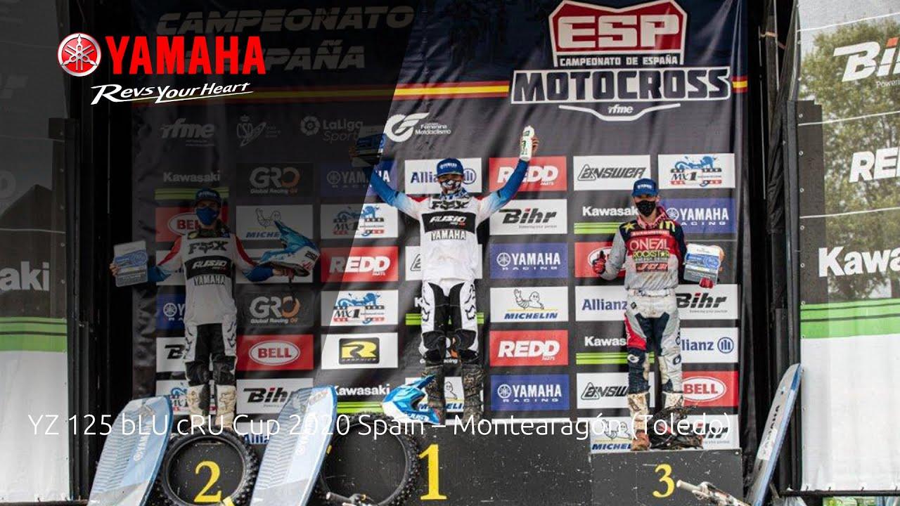 Yamaha YZ125 bLU cRU Cup 2020 Spain - Montearagón (Toledo)