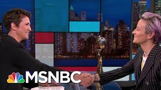 Megan Rapinoe: Time For The Next Step For Women's Soccer | Rachel Maddow | MSNBC