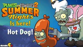 Plants Vs Zombies 2 - Summer Nights Pinata Party x2 Treasure Yeti Battle!