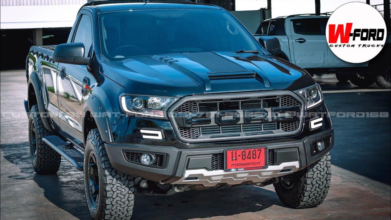 EP117-Ford Ranger ตอนเดียว 4x4 /แต่งหล่อ/เสริมแหนบเพื่อบรรทุก 3.5 ตันเพลาเดิม custom by watford