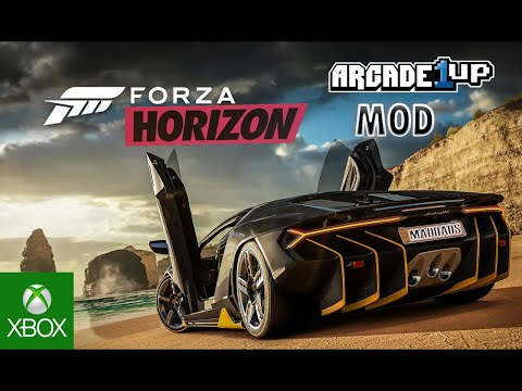 Arcade1up Forza Horizon Xbox one Mod!!(Check it Out) from MadDadsGaming