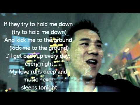 Jason Chen~Music Never Sleeps Lyrics