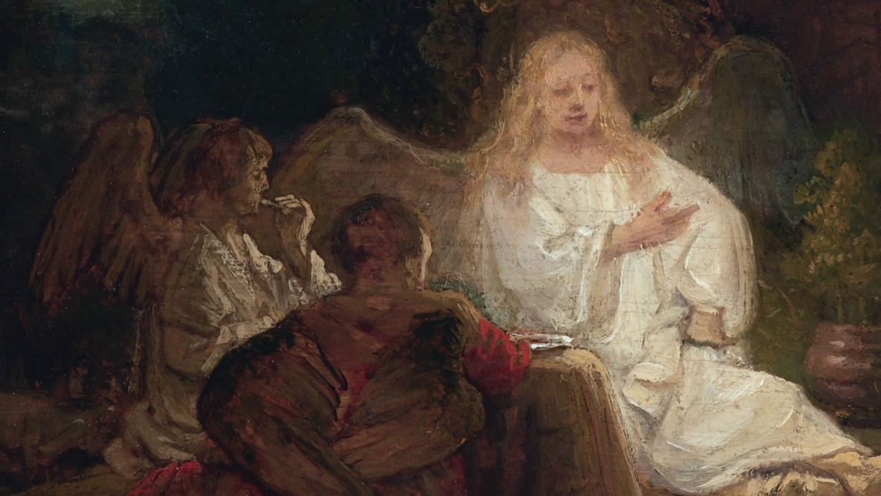 Divine Encounter: Rembrandt�s Abraham and the Angels
