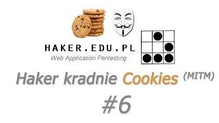 #6 Kradniemy PHP cookies z phpsessid... czyli Cookie Cadger, Wireshark i Ettercap  | WEP