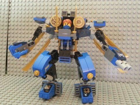 Ninjago Moc - Jay's Electro Mech
