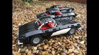 Lego Technic 1961 Corvette C1 with BuWizz