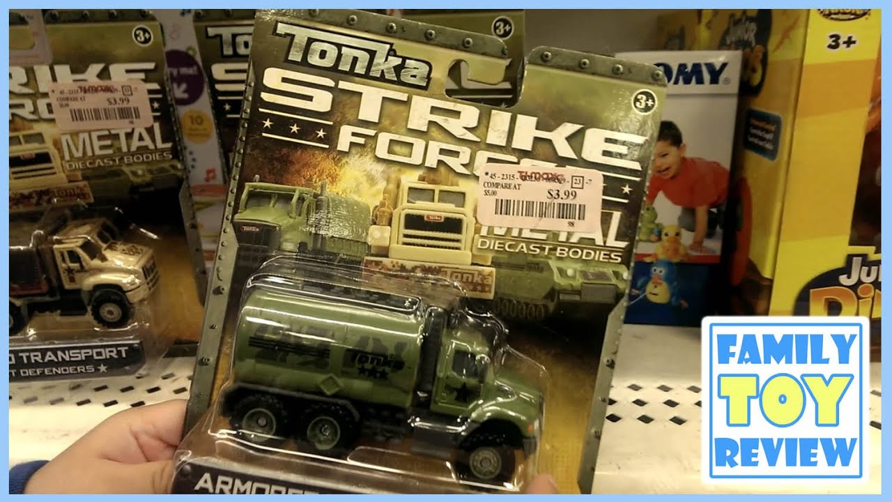 Toy Trucks - Tonka Strike Force MILITARY TRUCK TOYS for kids ...