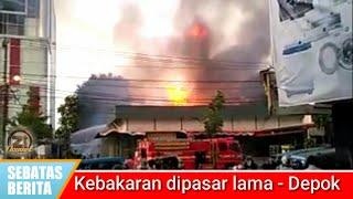 Gudang Samping Transmart Terbakar #sebatasberita