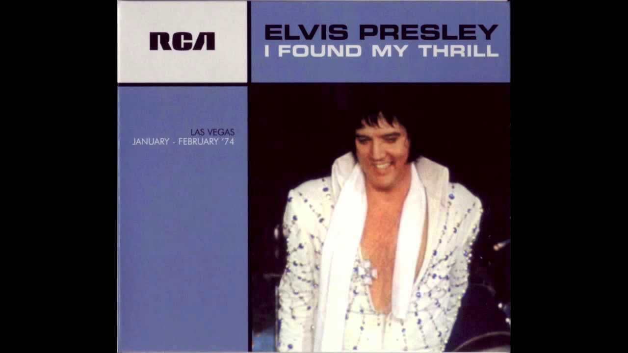 I Found My Thrill Elvis Presley January 27,1974 Midnight