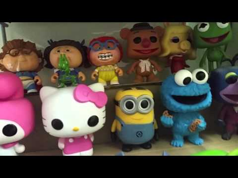 האוסף הגדול שלי בובות אספנות צעצועים בבית חדש mickymt007: 2015-16