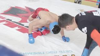 Балтаев Асан vs. Мустафин Ильяс.  IV Чемпионат Астаны среди любителей. 57 кг