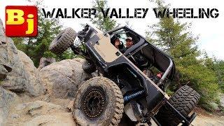 Wheeling the Diesel in Walker Valley