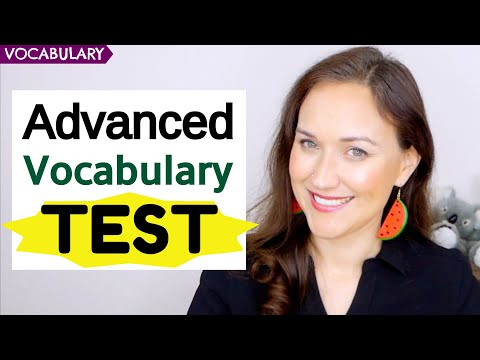 advanced-english-vocabulary-test-|-20-advanced-words