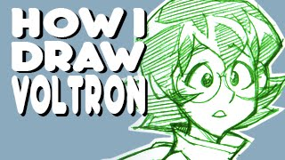 How I Draw Voltron - Pidge
