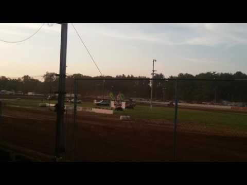 ASCoC Sprint Car Heat 1 Part 3/3 Brownstown Speedway