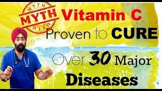 Rx Vitamin #1(Hindi) विटामिन C की सही जानकारी | Vit C Cure & Myth - Research Analysis | Dr.Education