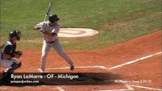 Ryan LaMarre - OF - Michigan