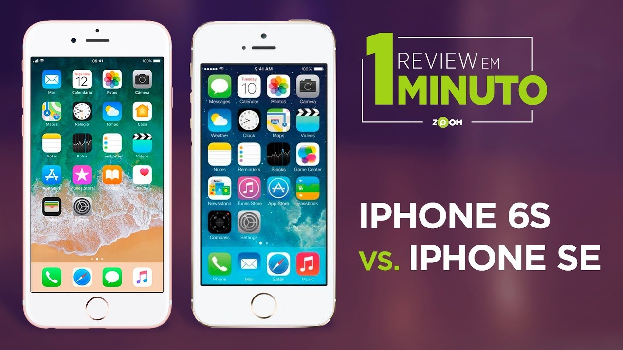 review iphone 6s vs se