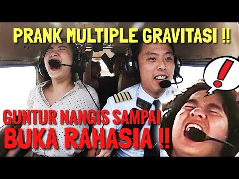 PRANK MULTIPLE GRAVITASI!! - GUNTUR NANGIS KEJER LAST DAY PRODUCTION BUKA RAHASIA (No Click Bait)