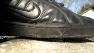 shoe destroys a hot wheel Thumbnail