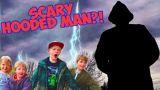 Creepy Mystery Man Protects The Treasure! Superkids Episode 5! / The Beach House