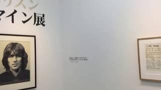 【2018.3.某日】元ビートルズのメンバー、ジョージハリスンの回顧展的な...