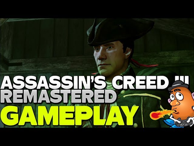 Welcome to Boston | Assassin's Creed III Remastered Gameplay