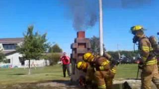 Chimney Fire Demonstration