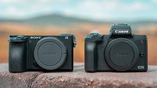 ... Sony A6500 - https://amzn.to/2RNeoyo Sony A6300 - http://amzn.to/2F2pKbz Canon EOS M50 - htt...
