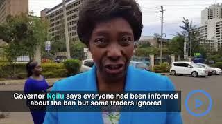 Ngilu on burning of charcoal lorry in Kitui