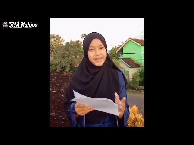 PARADE DAKWAH | ADINDA SYAFAATUL MARWAH | X IPA 2 | SMA MUHAMMADIYAH 1 PONOROGO