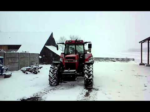 Zimowy Atak 2015 / Case 5140 / JcB 725