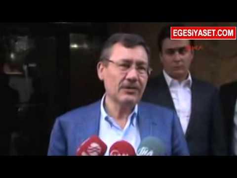 Melih Gökçek'ten Ahmet Hakan'a Sürpriz Ziyaret