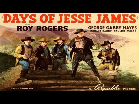 Days Of Jesse James / Roy Rogers / 1939