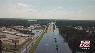 Hurricane Florence is gone, but flooding is still a big issue in the Carolinas