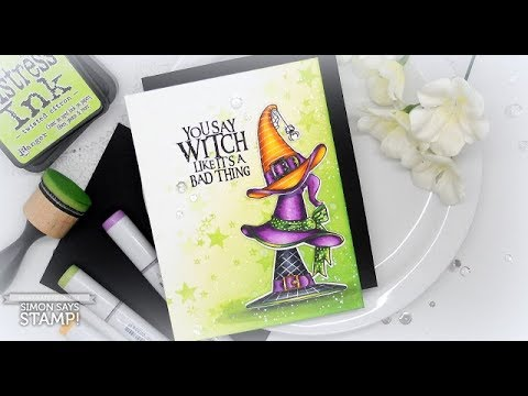 Witch Hats: Copic coloring