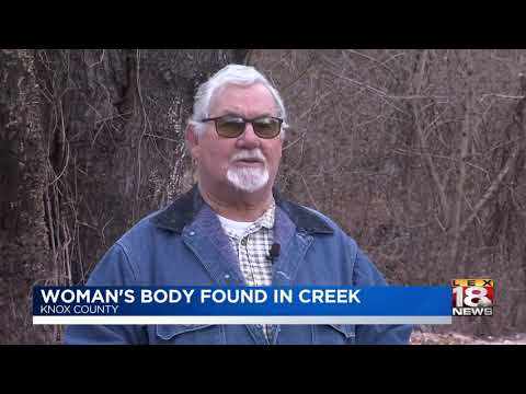 Woman's Body Found In Creek