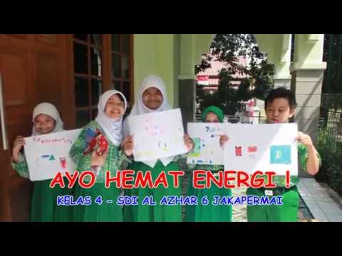 Ayo Hemat Energi Kelas 4 Sdi Al Azhar 6 Youtube