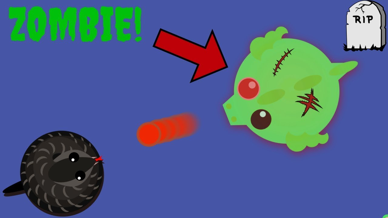 Mope.io NEW ZOMBIE Infection Game Mode!! HOW TO KILL ...