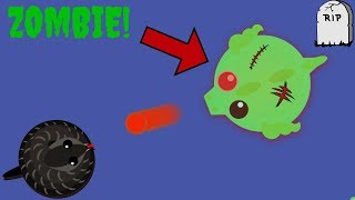 Mope.io NEW ZOMBIE Infection Game Mode!! HOW TO KILL ZOMBIES?!