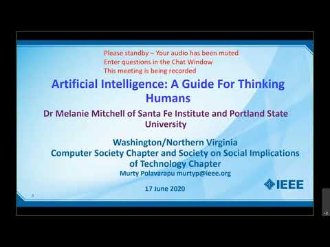 Webinar: Artificial Intelligence: A Guide for Thinking Humans