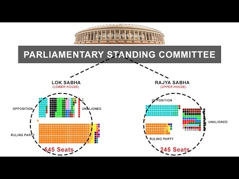 Parliamentary Standing Committee - Indian Polity