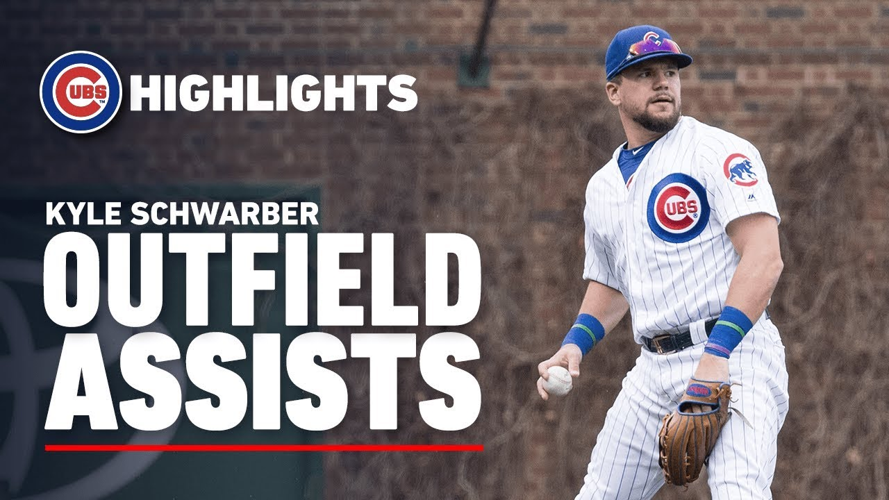 Best Assists by Cubs Outfielder Kyle Schwarber