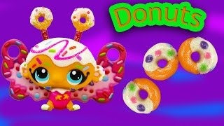 Lps Playdoh Jelly Donut Glitter Fairy Candyswirl Dreams Food Littlest Pet Shop Candy Bat