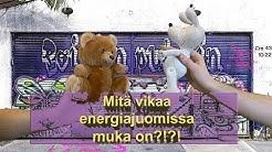 Mitä vikaa energiajuomissa muka on?!